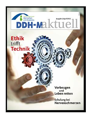 Titelseite von DDH-M-aktuell 02/2016