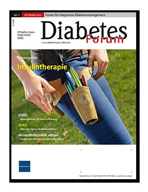 Titelseite von Diabetes-Forum 09/2015