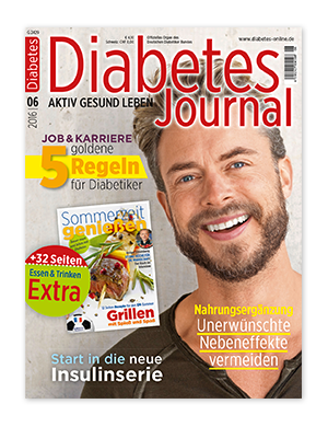 Titelseite von Diabetes-Journal 06/2016