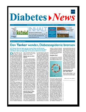 Titelseite von Diabetes News 01/2016