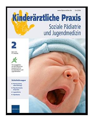 Titelseite von Kinderärztliche Praxis 02/2016