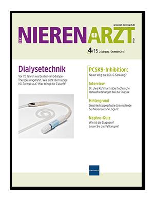Titelseite von Der Nierenarzt 04/2015