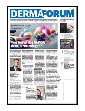 Titelseite von DERMAforum 07/2017