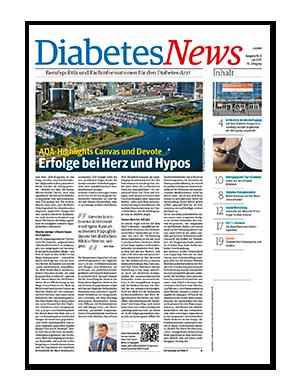Titelseite von Diabetes News 04/2017