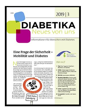 Titelseite von Diabetika 03/2019