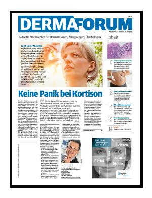 Titelseite von DERMAforum 05/2020
