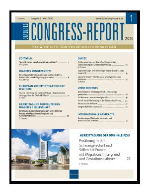 Titelseite von Diabetes-Congress-Report 01/2020