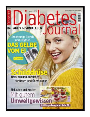 Titelseite von Diabetes-Journal 04/2020