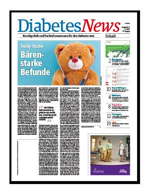 Titelseite von Diabetes News 04/2020