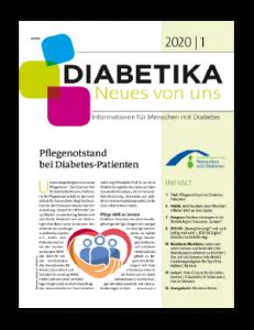 Titelseite von Diabetika 01/2020