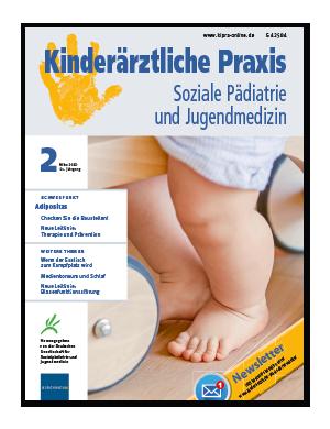 Titelseite von Kinderärztliche Praxis 02/2020