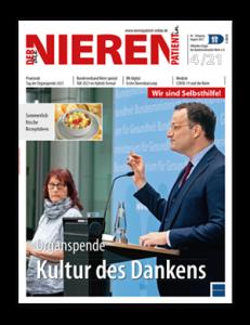 Titelseite von Der Nierenpatient 04/2021