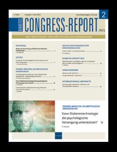 Titelseite von Diabetes-Congress-Report 02/2021