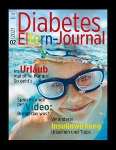 Titelseite von Diabetes-Eltern-Journal 04/2021