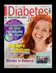 Titelseite von Diabetes-Journal 09/2021