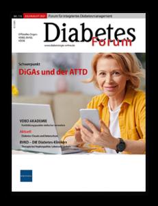 Titelseite von Diabetes-Forum 07/08/2021